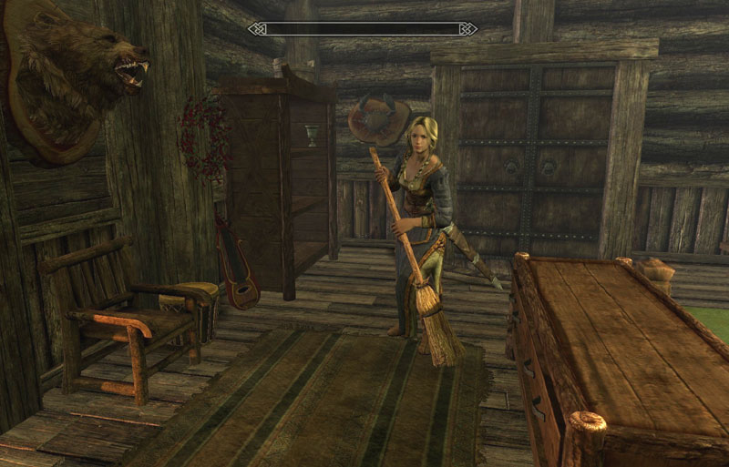 Companion Vilja in Skyrim