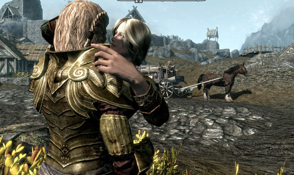 Companion Vilja in Skyrim